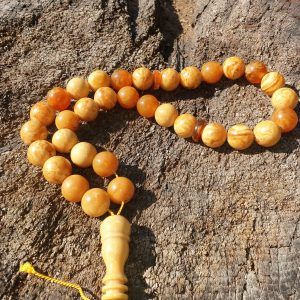 Baltic amber muslim rosaries